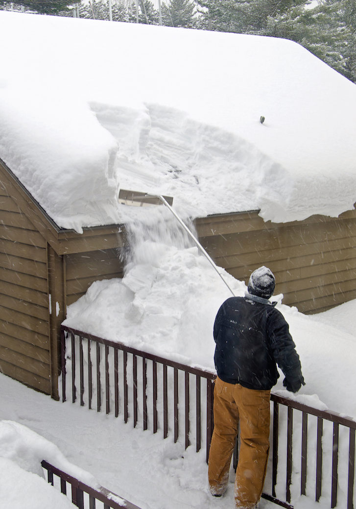 Roof Snow Removal
